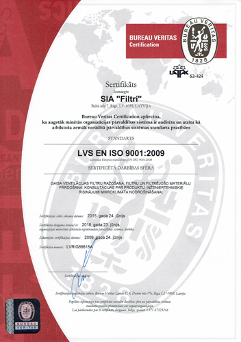 ISO 9001 2009 2018 ENG